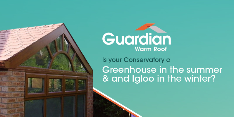 Guardian tiled conservatory roofs