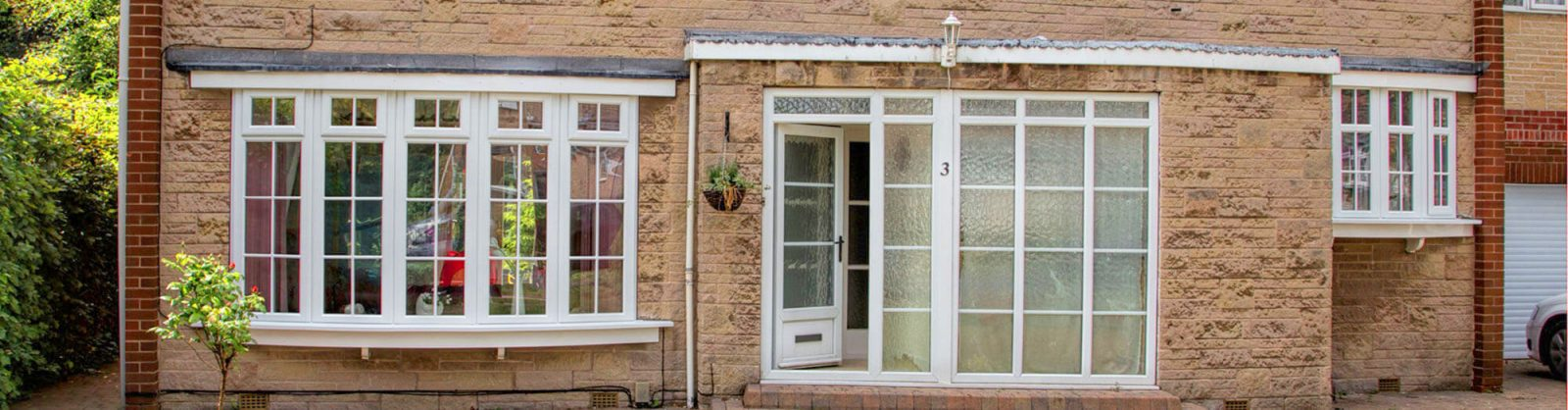 Bay and bow windows in sheffield yorkshire global windows for French doors barnsley