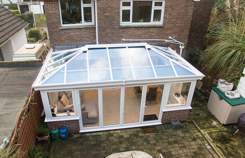 conservatory roof options in sheffield yorkshire. Black Bedroom Furniture Sets. Home Design Ideas
