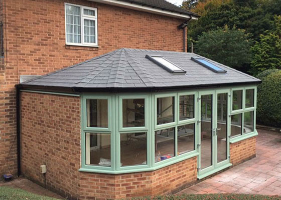 Guardian Warm Roof System In South Yorkshire Global Windows