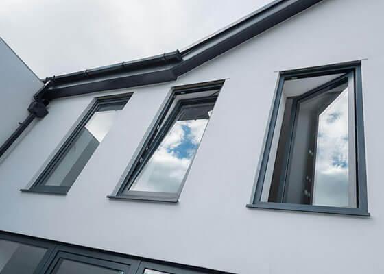 Tilt and turn windows