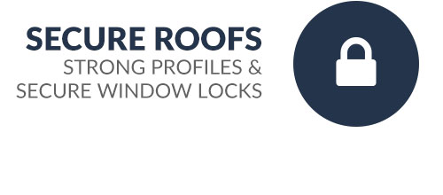 Secure roofs and profiles