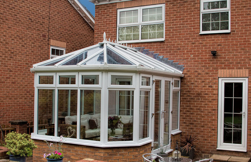 Traditional Victorian conservatory