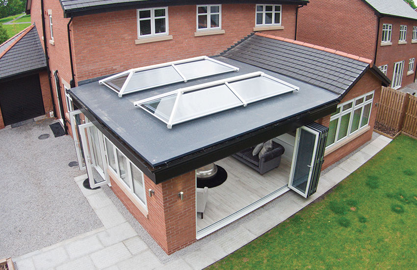 uPVC lantern roof