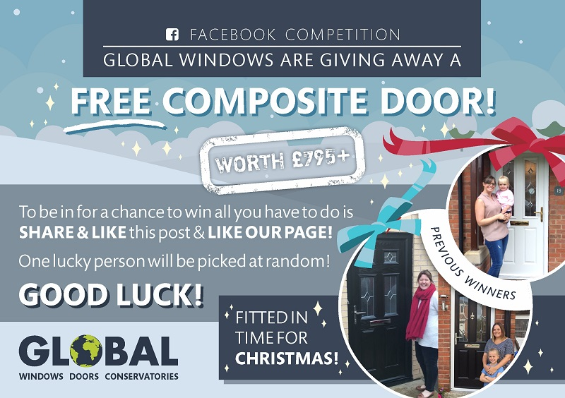 1a4a956f45d1ba Global Windows Free Composite Door Competition. Win a free composite door  from Global Windows! Would you like to vastly improve your ...