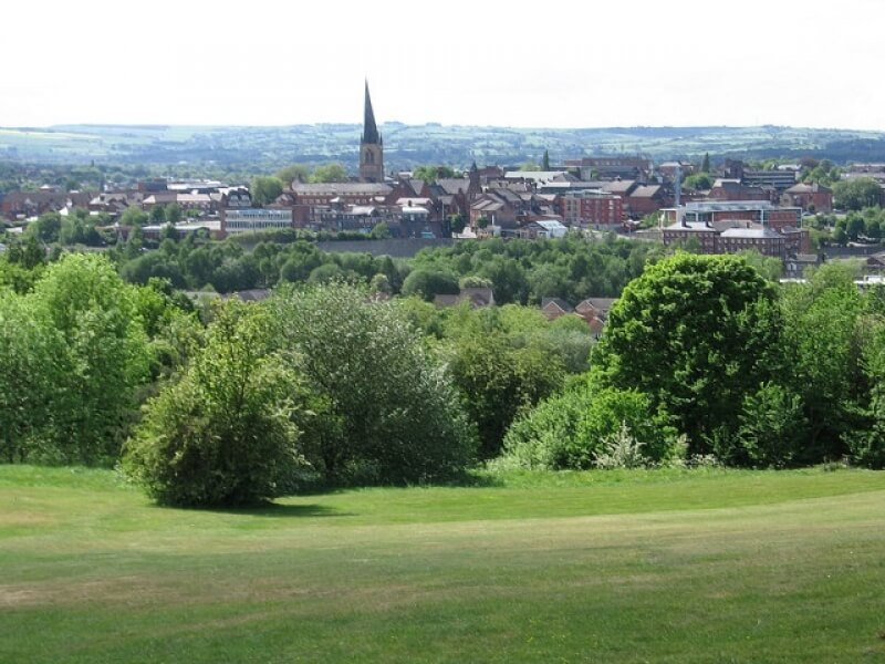 View of chesterfield