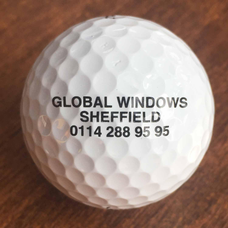 Global windows golf ball