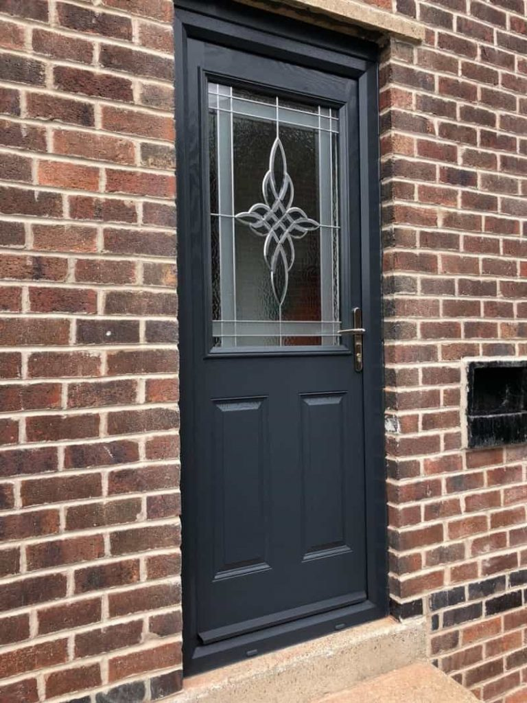 New composite back door from Global Windows