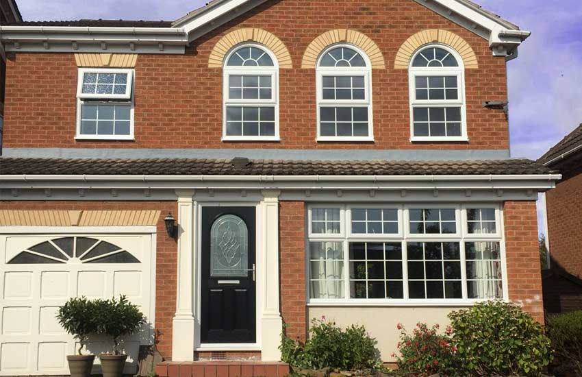 casement windows on a house 2