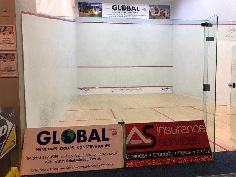 Global sponsor Squash club