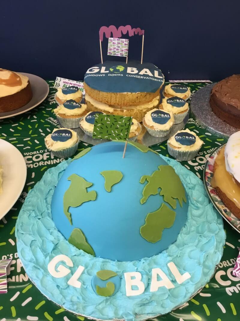 Global Earth cake