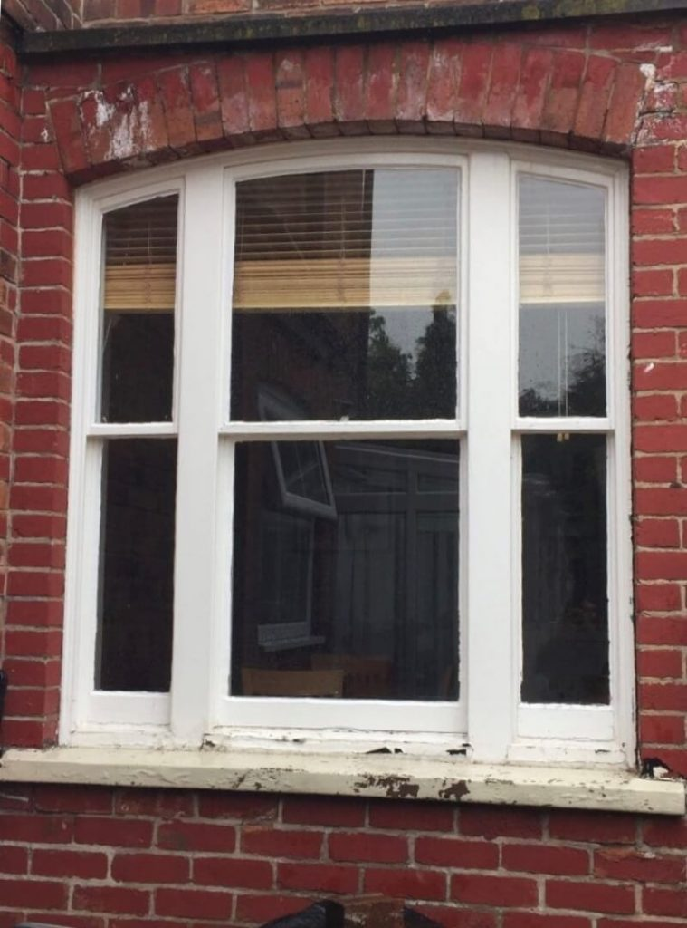 Window before improvement