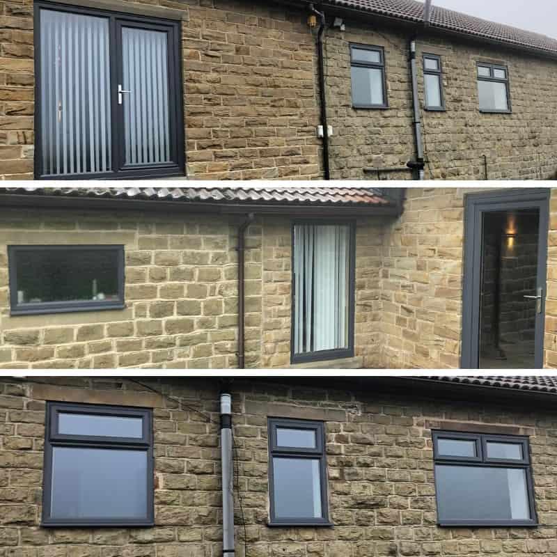 Installation of doors and windows