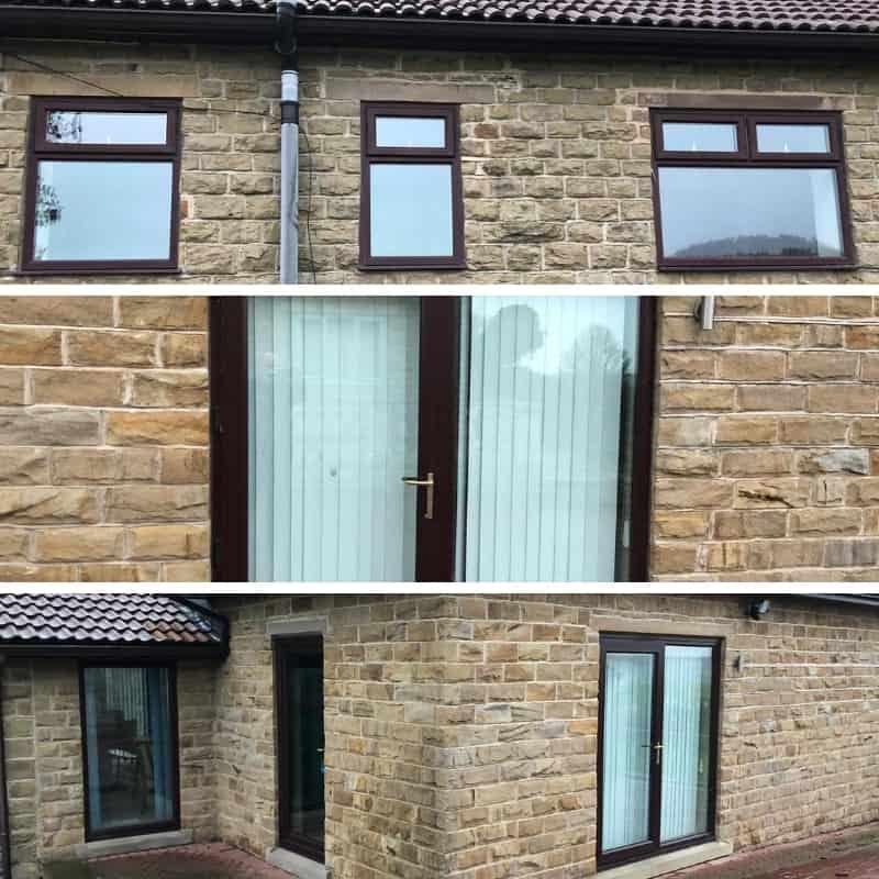 Installation of windows and door