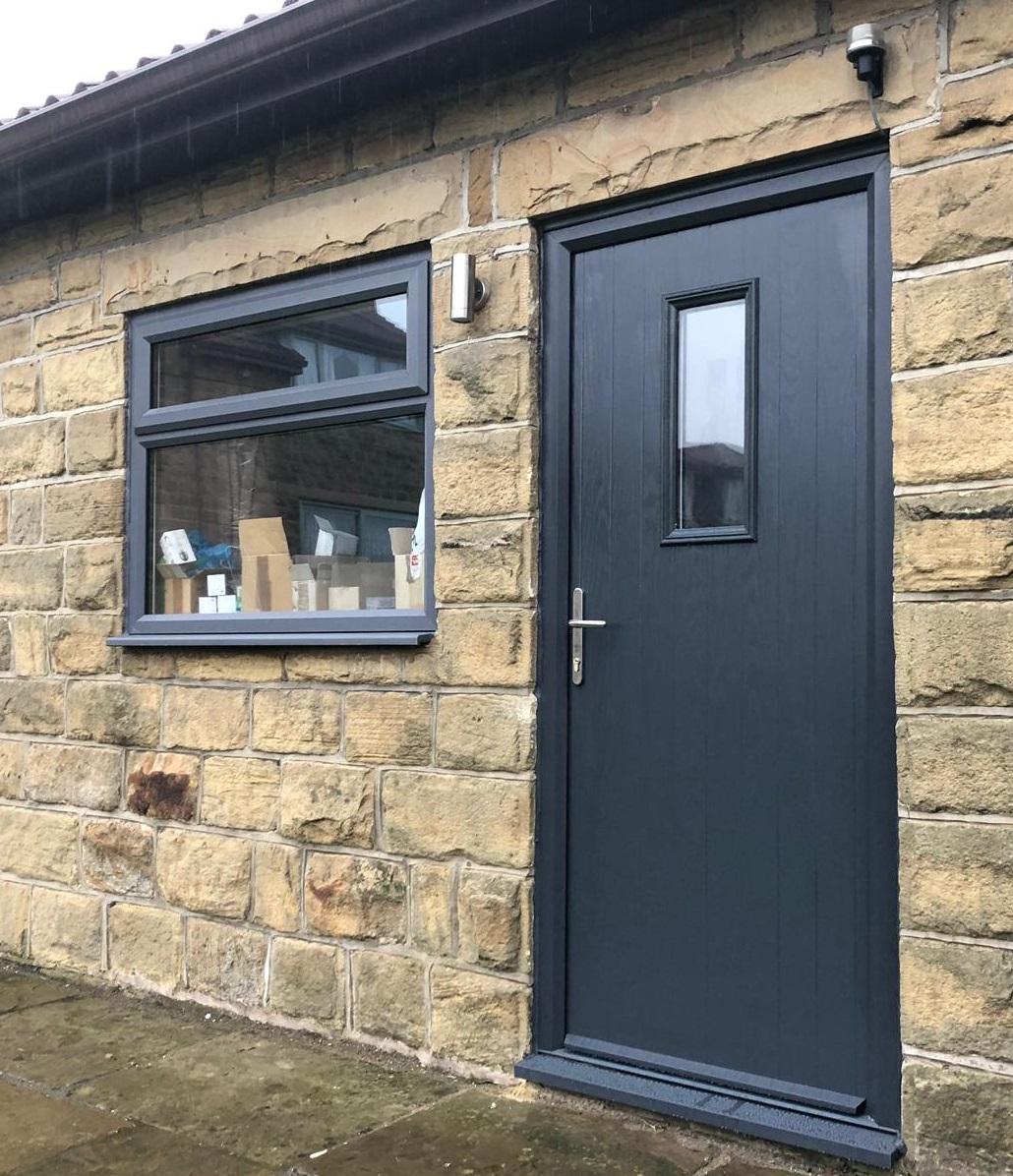 New door from Global Windows installed