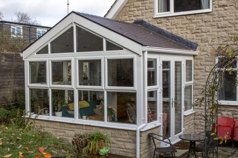 New Gable conservatory