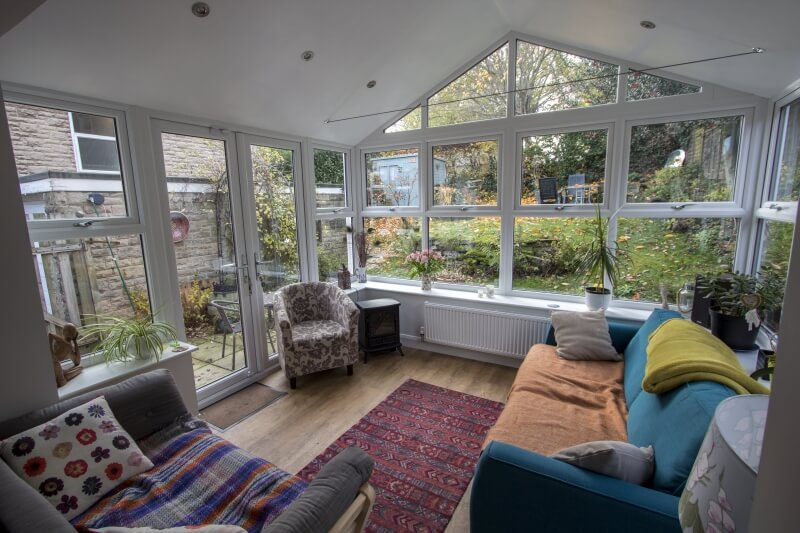 New Gable conservatory interior