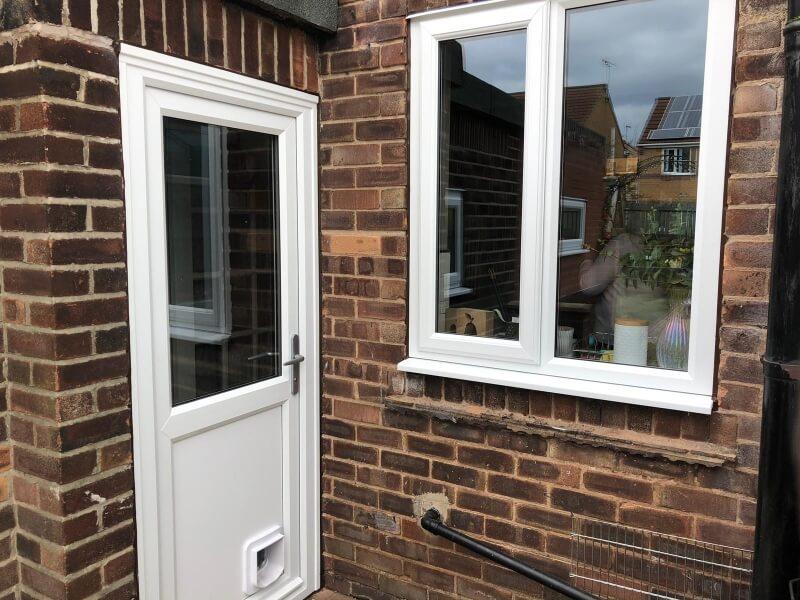 New uPVC windows and back door