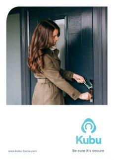 Kubu smart lock leaflet