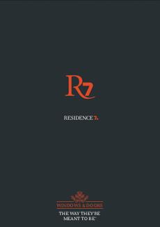 residence7 brochure cover