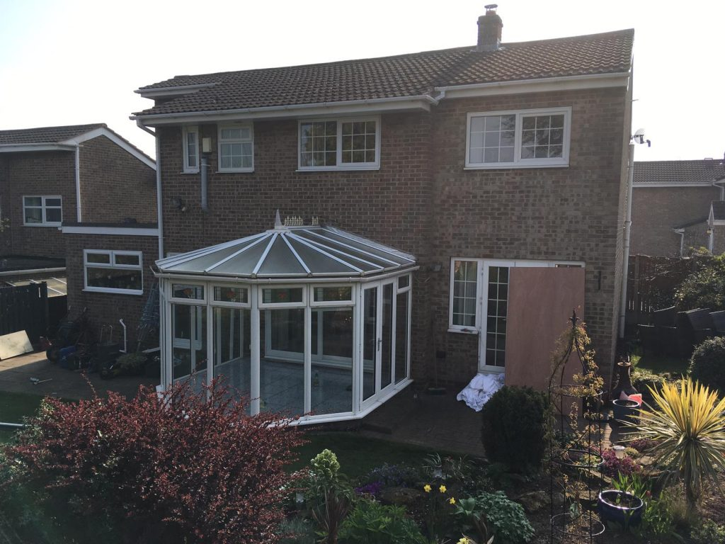 Potter conservatory replacement before